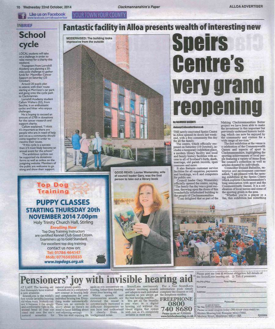 speirs opening advertiser 2